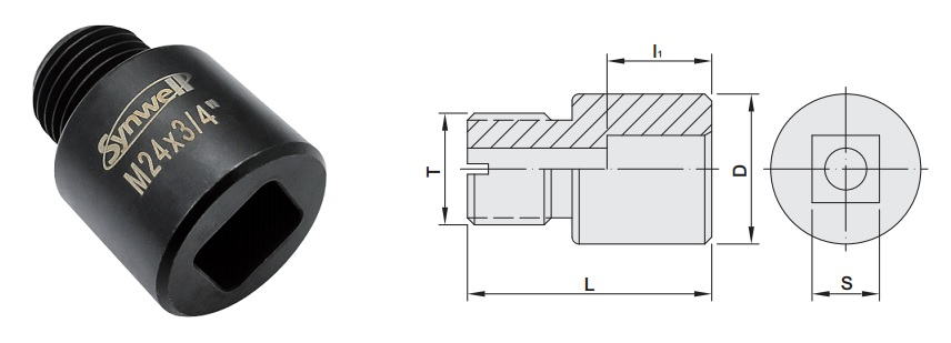 proimages/Products/Cutting_tools/End_mill_cutter/PowerLOC_Square_Shank_End_Mill_Cutter/Square_Shank_Adapter-figure.jpg