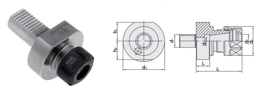 proimages/Products/Tool_holders/Turning_application(VDI)/ER_COLLET_CHUCK_HOLDER_figure.jpg