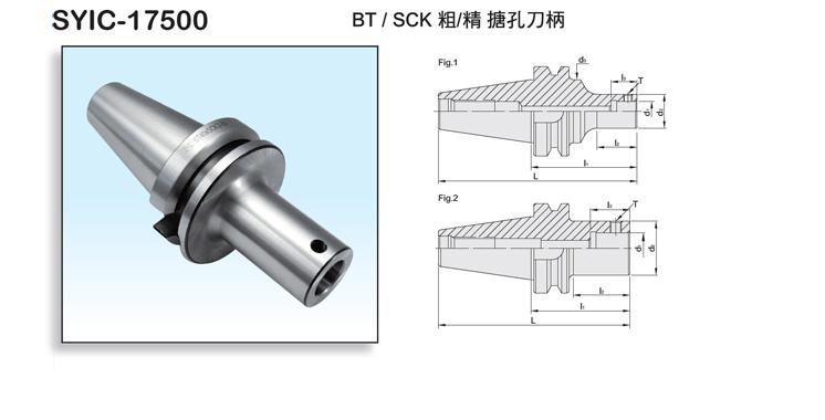 BT/SCK Boring Head Shank