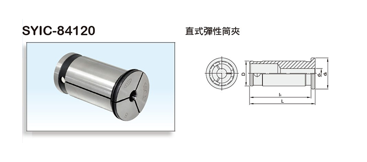 Straight Shank Collet