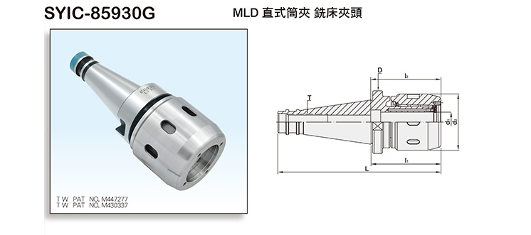 MLD Multi-Lock Milling Chucks