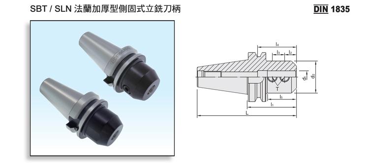 DualDRIVE+ SBT/SLN Side Lock End Mill Holder